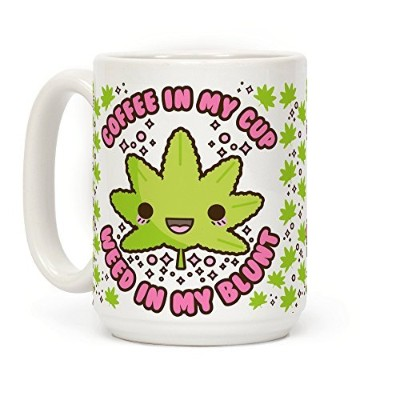 Humanコーヒーin My Cup Weed in My Blunt one_size ホワイト
