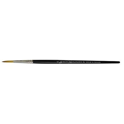 Dynasty Faux Kolinsky Series 1114 - Round Brush (Short Handle) - Size 6 (one brush). by Faux...