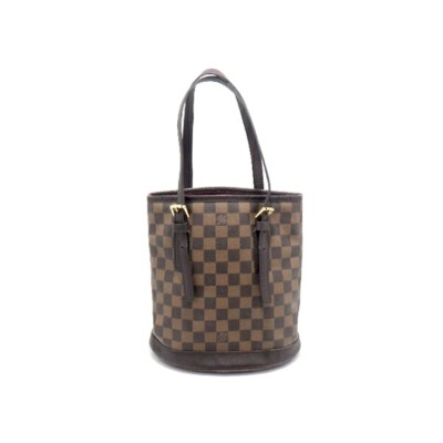 LOUIS VUITTON ルイヴィトン バッグ トートバッグ バケット マレ ダミエ N42240【437】【中古】【大黒屋】