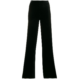 Romeo Gigli Vintage high-waist flared trousers - ブラック