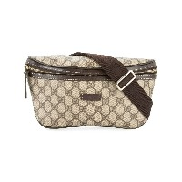 Gucci Pre-Owned GG ベルトバッグ - ブラウン