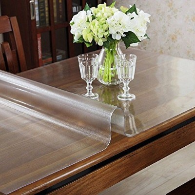 (80cm x 180cm, 2mm Thickness) - LovePads Multi Size 2mm Thick Custom Matt PVC Table Cover Protector...