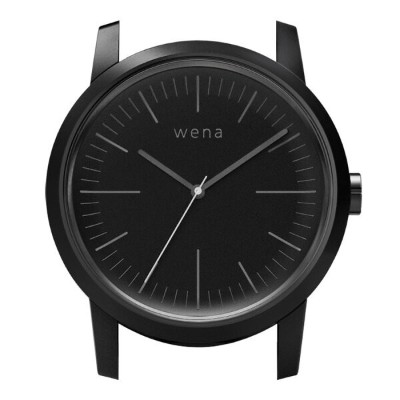 wena wrist用 Three Hands Premium Black Headソニー Sony スマートウォッチ IoT iOS Android iPhone スマートフォン 電子マネー...