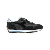 Diadora colour block sneakers - グレー