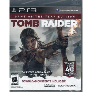 PS3 【北米版】 TOMB RAIDER GAME OF THE YEAR《取り寄せ※暫定》