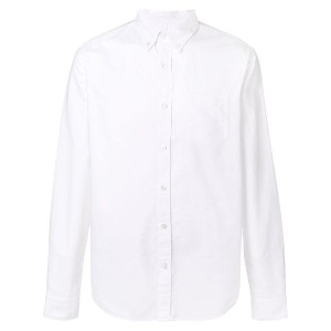 Closed button-down Oxford shirt - ホワイト