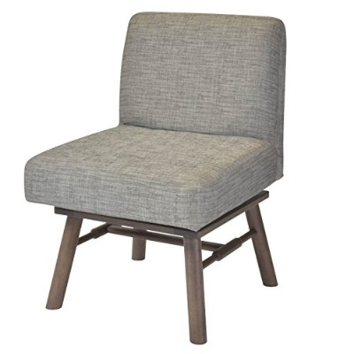 ISSEIKI 回転式 ダイニングチェア 1人掛け 幅55 木製家具 MITE DINING CHAIR