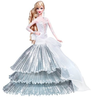 バービー バービー人形 日本未発売 ホリデーバービー L9643 Holiday Barbie Doll 2008 Collector Edition - Celebrating 20 Years...