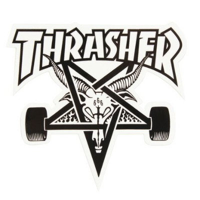 THRASHER ステッカー SKATE GOAT MD (Men's、Lady's、Jr)