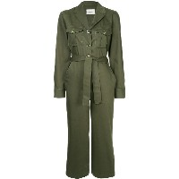 Monographie military jumpsuit - グリーン