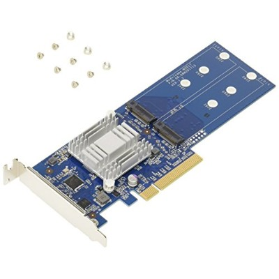 Synology M2D17 PCIe Adapter Card M.2 SSD アダプター カード IO2108