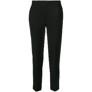 Theory cropped tapered trousers - ブラック
