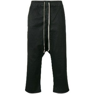 Rick Owens DRKSHDW baggy trousers - ブラック