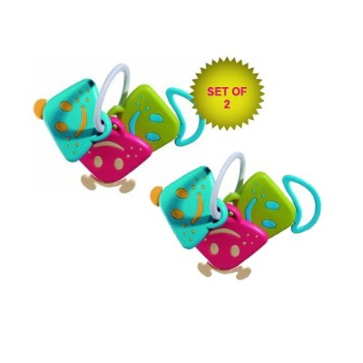Chan Pie Gnon Rattle Teething Toy (Set of 2!) by Vulli