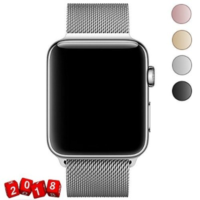 For Apple Watchバンド38 mm , GEOTEL Milanese LoopステンレススチールBand for Apple Watchシリーズ2 Apple Watchシリーズ1...