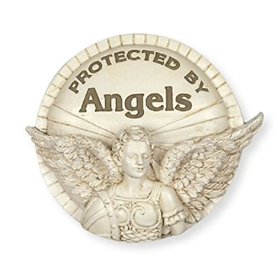 Protected By Angels Archangelバイザークリップ。