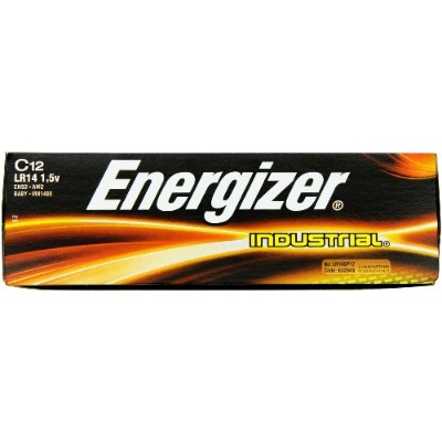 Energizer Products - Energizer - Industrial Alkaline Batteries, C, 12 Batteries/Box - Sold As 1 Box...