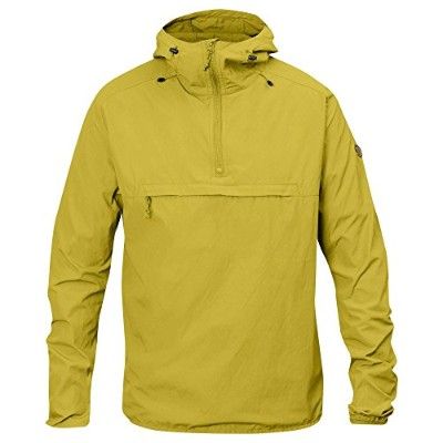 FJALLRAVEN MENS HIGH COAST WIND ANORAK BIRCH GREEN (LARGE)