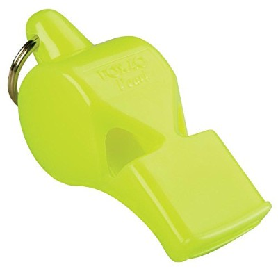 (Neon) - Fox 40 Pearl Whistle Referee-Coach Safety Alert Dog Rescue Outdoor