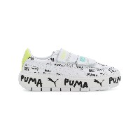Puma low top leather trainers - ホワイト