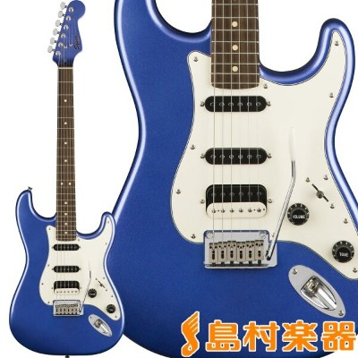 Squier by Fender Contemporary Stratocaster HSS, Rosewood Fingerboard, Ocean Blue Metallic ストラトキャスター...