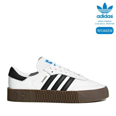 adidas Originals SAMBAROSE W (Running White/Core Black/Gum) 【レディースサイズ】【18FW-I】