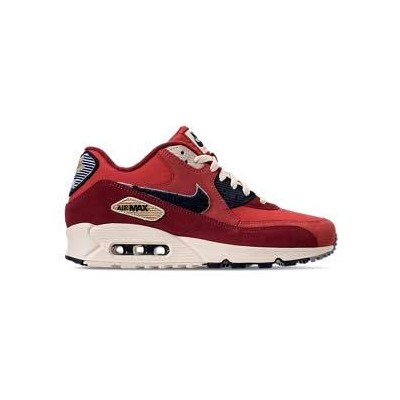 ナイキ メンズ スニーカー Nike Air Max 90 Premium SE エアマックス90 University Red/Provence Purple/Black