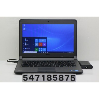 DELL Latitude 3340 Core i5 4210U 1.7GHz/4GB/500GB/13.3W/FWXGA(1366x768)/Win10【中古】【20180731】
