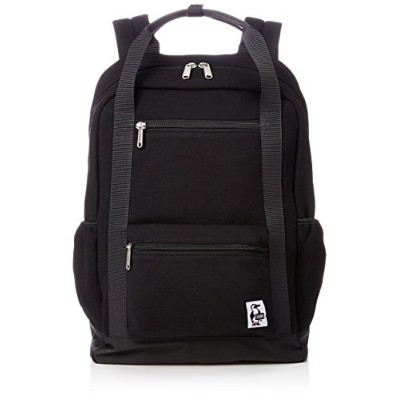 [チャムス]リュック Square Day Pack Sweat Nylon Black/Charcoal