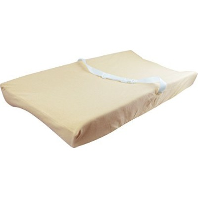 100% G.O.T.S. Organic Cotton Baby Diaper Changing Table Mat Pad Removable Cover, Brown by Dordor &...
