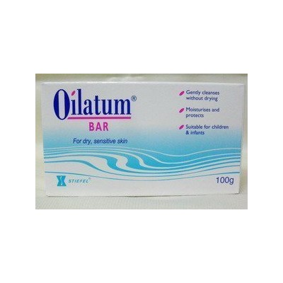 Pack of 3 Oilatum Bar Soap 100 G. by Oilatum493 [並行輸入品]