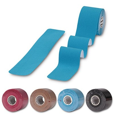 Kinesiology Tape for陸上競技選手、thereugokinexio防水、Reduce Pain and Injuryリカバリストレッチスポーツテープ