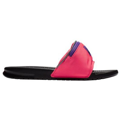 (取寄)ナイキ メンズ ベナッシ JDI ファニー パック Nike Men's Benassi JDI Fanny Pack Hyper Punch Black Hyper Grape