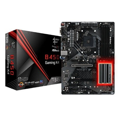 ASRock Fatal1ty B450 Gaming K4 [ATX/AM4/B450] AMD B450チップセット搭載マザーボード Fatal1ty Gaming
