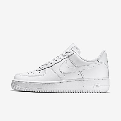 [ナイキ] NIKE WMNS AIR FORCE 1 07 315115-112 (24cm, White/White) [並行輸入品]