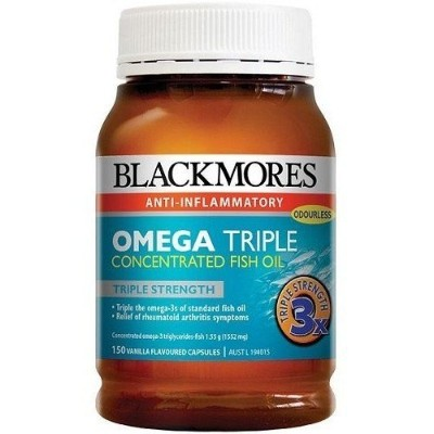 Blackmores Omega Triple Concentrated Fish oil 150 cap by Blackmores