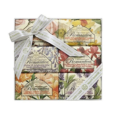 Nesti Dante Romantica Soap Collection 6 x 150g