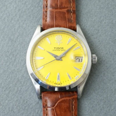 【中古】TUDOR BIG ROSE OYSTER DATE