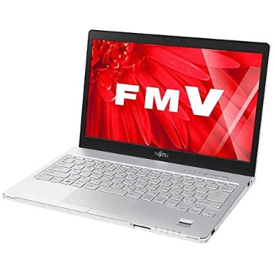 富士通 13.3型ノートパソコン FMV LIFEBOOK SH55/W(Office Home&Business Premium プラス Office 365) FMVS55WWP