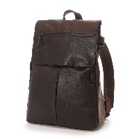イザック Y'SACCS Nylon×Cow leather combi series Rucksack(BROWN) レディース