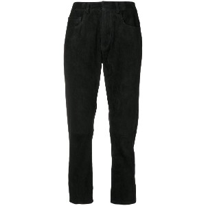 Inès & Maréchal cropped trousers - ブラック