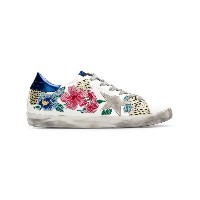 Golden Goose Deluxe Brand Star floral sneakers - ホワイト