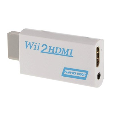 DUOLEI Wii to HDMI コンバーター HDMI変換アダプタ WiiをHDMI接続に変換Wii TO HDMI Converter BOX アップコンバーター 720p/1080p