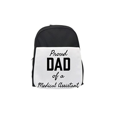 Proud DadのA Medical Assistantプリントバックパック
