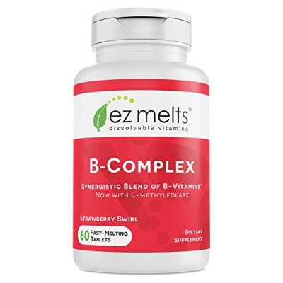 EZ Melts B-Complex, Fast Melting Tablets by EZ Melts