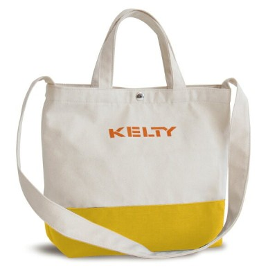 KELTY(ケルティ) SHOULDER LOGO TOTE 8L Yellow 2592223