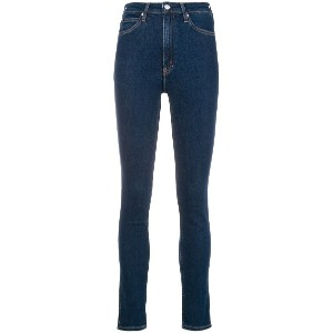 Calvin Klein Jeans high-waisted skinny jeans - ブルー