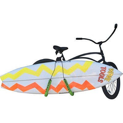 Surfboard Bicycle Rack for Shortboards Rack Great for Getting you Bike to the Beach!