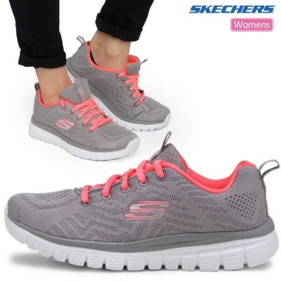 【SALE/25%OFF】スケッチャーズ スニーカー グレースフル ゲットコネクテッド[全2色](12615)SKECHERS GRACEFUL GET CONNECTED レディース【靴】_snk...
