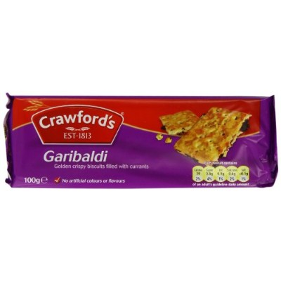 Crawfords Garibaldi Biscuits 100 g (Pack of 12)